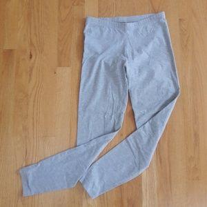 American apparel size L fits M grey leggings